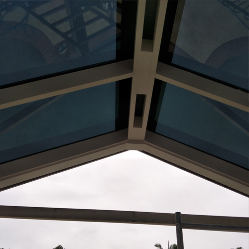Patio Glass Roof After Tinting